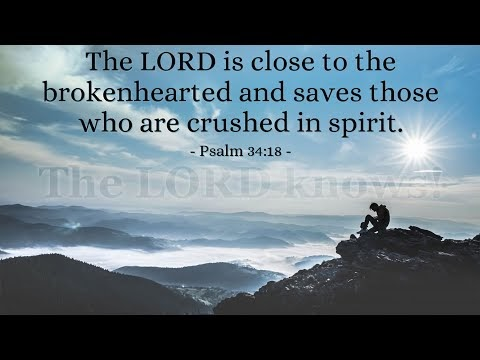 Verse of the Day - Psalm 34:18
