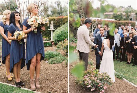 Autumn Backyard Wedding: Brittany   Mike