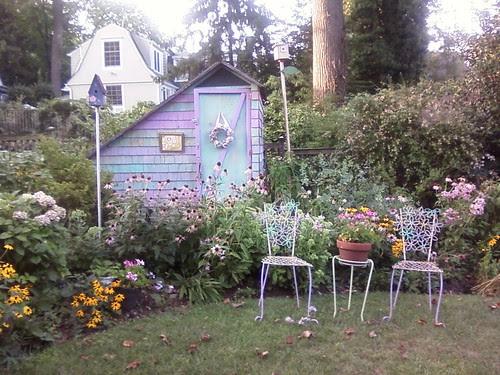 My friend Lorraine's garden
