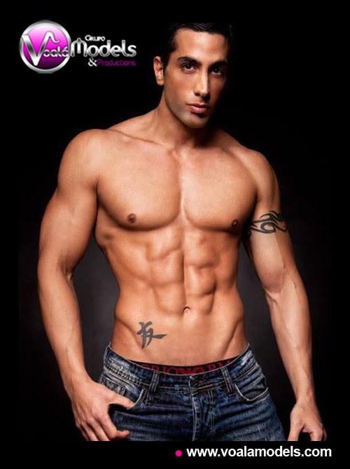 Grupo Voalá Models Productions Modelos Hombres Diego Pizarro