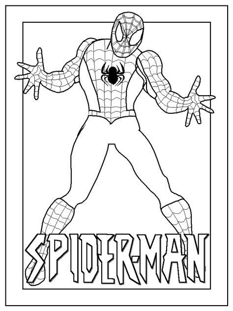 spiderman coloring pages coloringpagesabccom