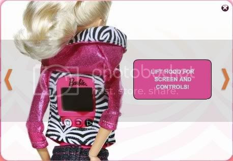 Barbie Video Girl,Mattel,Spycam