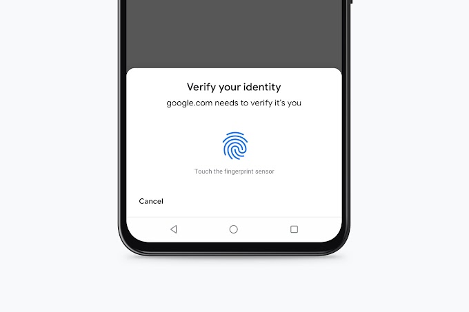 How to protect Google's password autocomplete with your fingerprint