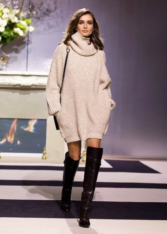 Le Fashion Blog Model Andreea Diaconu Cowl Neck Turtleneck Sweater Dress Over The Knee Boots HM FW 2013 Paris photo Le-Fashion-Blog-Model-Andreea-Diaconu-Cowl-Neck-Turtleneck-Sweater-Dress-Over-The-Knee-Boots-HM-FW-2013-Paris.jpg