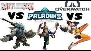 Who RIPPED OFF Who?! Overwatch vs Paladins Open Beta Gameplay | Daikhlo