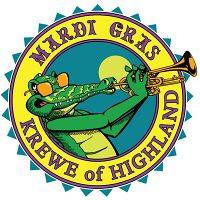 Krewe of Highland logo by trudeau