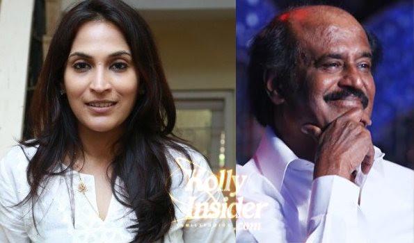 Aishwarya Dhanush talking about directing her dad Rajinikanth