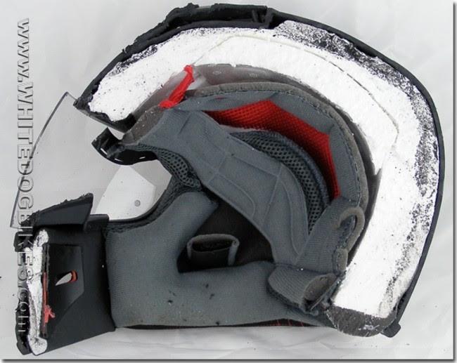 20. Мотоциклетный шлем вещь, разрез