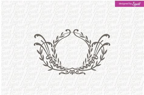 Floral Wedding Monogram ~ Logo Templates ~ Creative Market