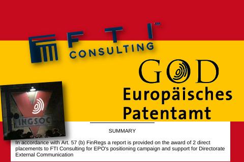 Escándalo de la OEP en España