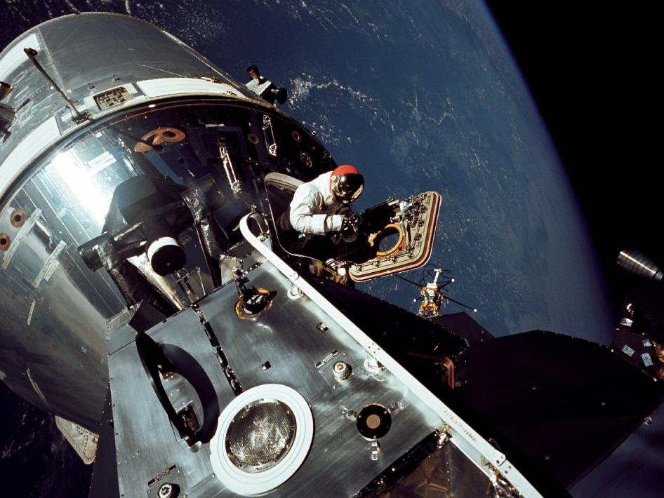 Apollo 9 astronaut Dave Scott