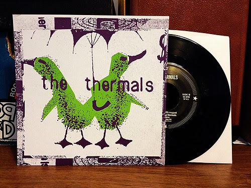 "The Thermals - No Culture Icons 7"" by Tim PopKid"