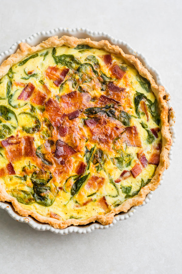 re continuing inward the tendency of brunch recipes this calendar week  perfect breakfast quiche