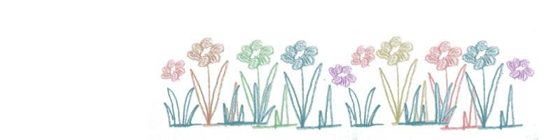 フリー素材ヘッダー北欧風の大人可愛いお花の大人可愛いイラスト800