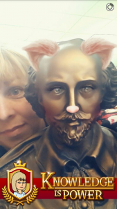 Shakespeare Selfie