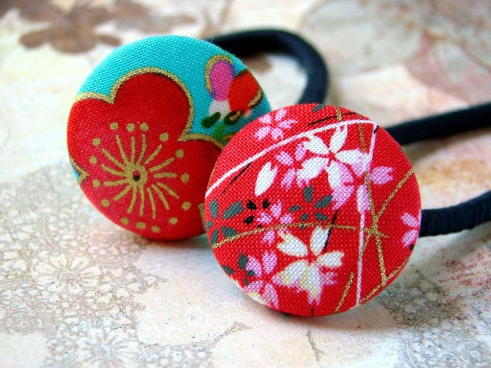 Emperors Bride Ponytail Holders  -fun designs and cute style