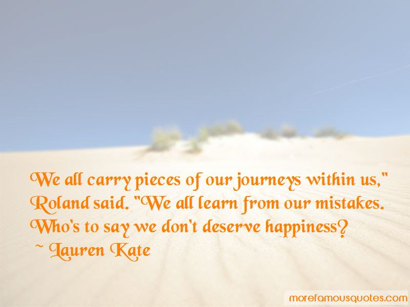 We All Learn From Our Mistakes Quotes Top 47 Quotes About We All