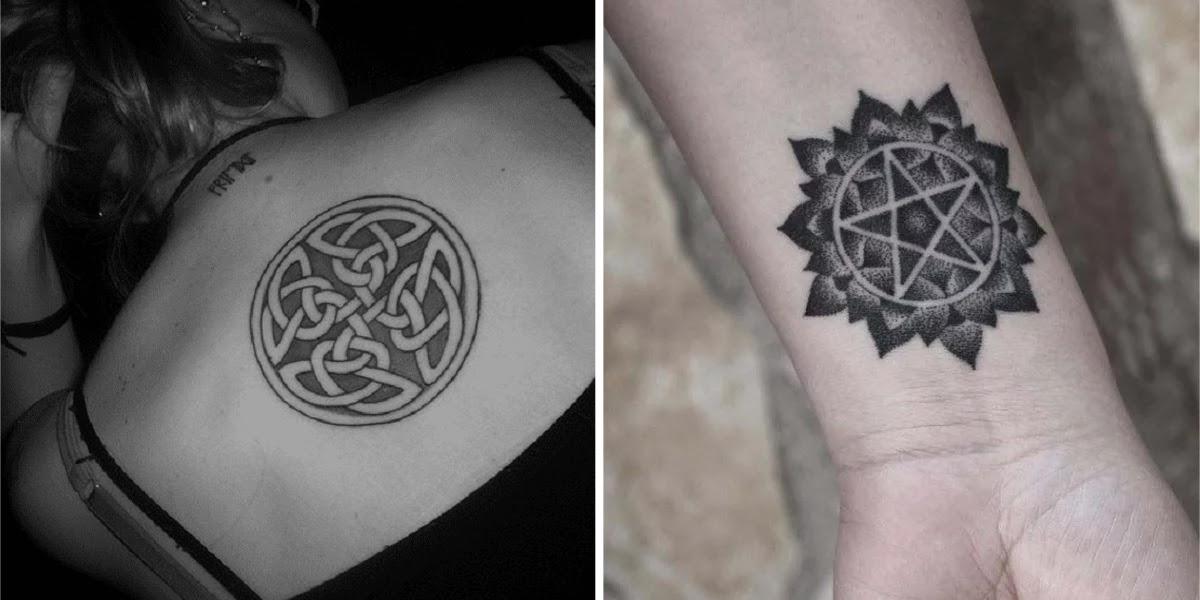 Estos 10 Tatuajes Inspirados En Símbolos Celtas Traerán Protección Y
