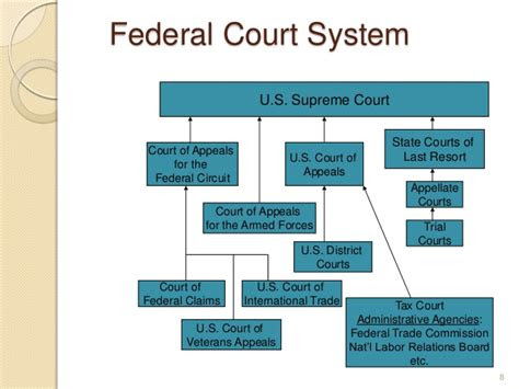 federal court system  jurisdiction  federal