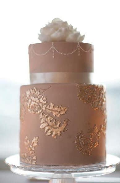 dusty rose latte wedding cake   BLUSH WEDDINGS   Wedding
