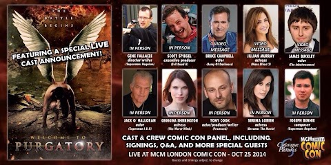 London Comic Con October 2017 Guests