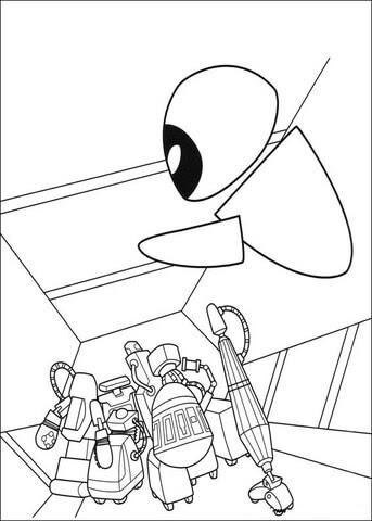 malvorlagen zum ausdrucken roboter
