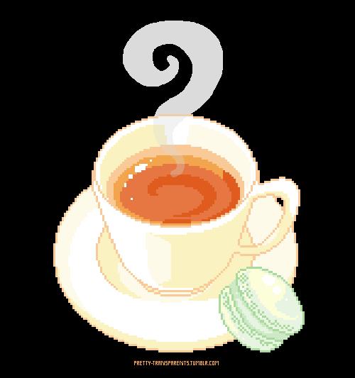 Tea & macaron
