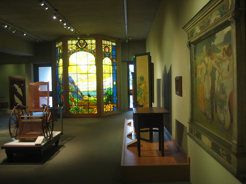 Franc Pierce Hammon Memorial Windows, 1925, Leaded Stained Glass, Arthur F. Matthews, Oakland Museum of California _ 9558