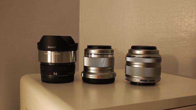 VCL-ECF1+14mm f/2.5、MZD 45mm f/1.8、OLYPMUS Kit
