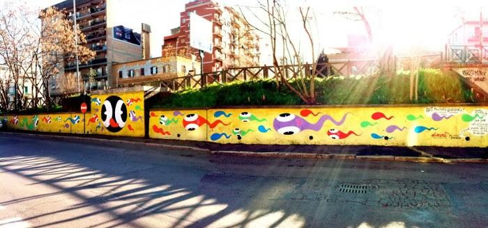 Street Art In Romearttrav