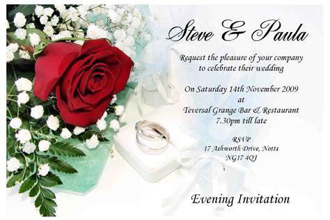 contoh wedding invitation card   wedding invitations