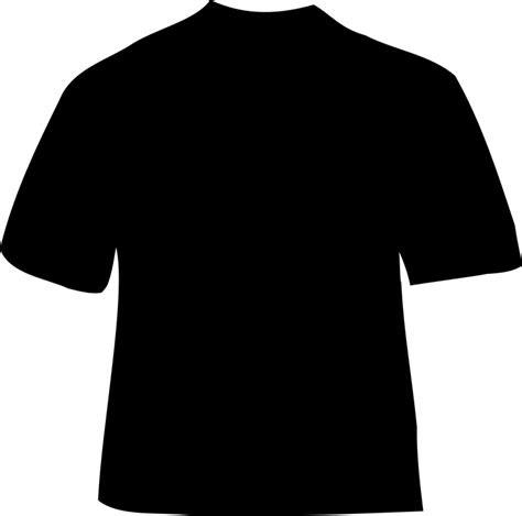 shirt black clothing  vector graphic  pixabay