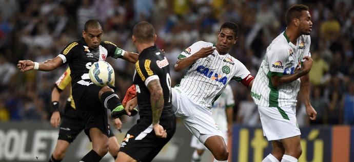 Rodrigo - Vasco x Chapecoense (Foto: André Durão)