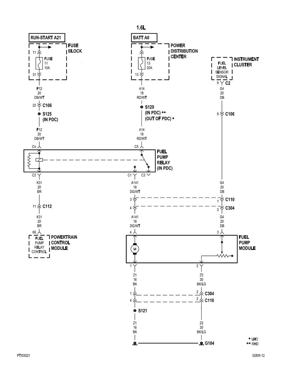 2006 Pt Cruiser Fuel Pump Wiring Diagram Wiring Diagram Document Document Amarodelleterredelfalco It