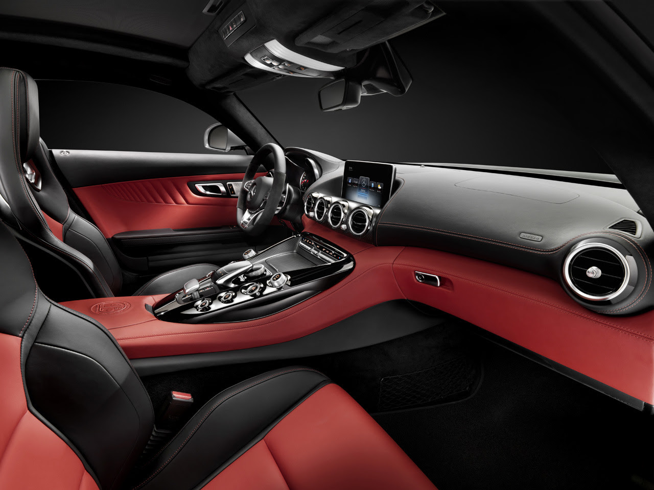 Mercedes-AMG GT Interior Photo Gallery - Autoblog