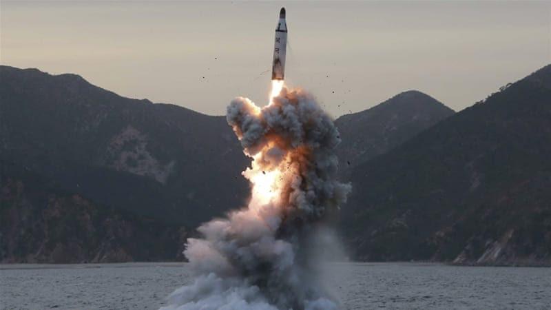 North Korea defies international community with renewed missile test [EPA/KCNA]