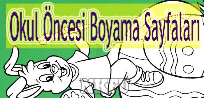 Okul öncesi Boyama Sayfaları