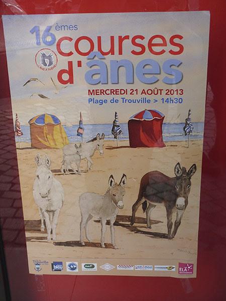 course d'ânes