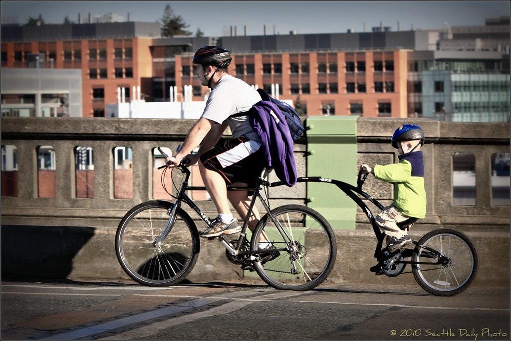 Hop on Pop's Bike
