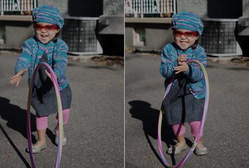 a hula hoop kinda day