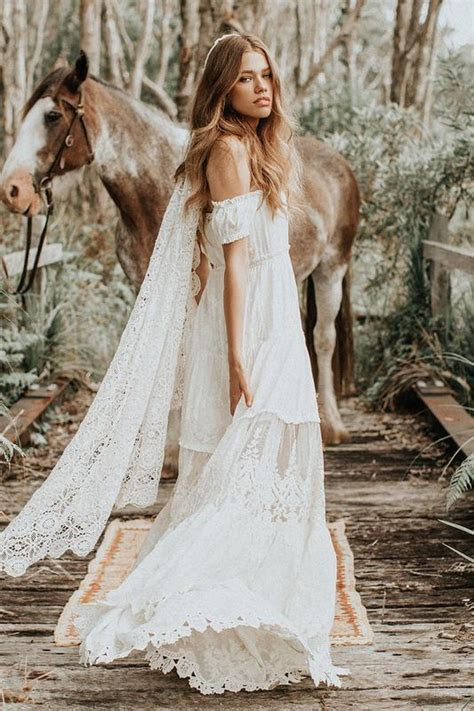 Bridal Gowns ? Gypsy Boho Wedding Dresses ? Spell & The