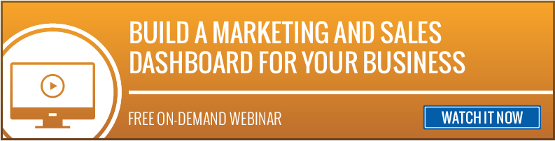 Marketing and Sales Dashboard On Demand Webinar