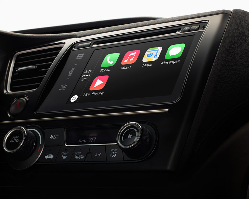 apple introduces CarPlay, an integrated iOS infotainment system for iPhone