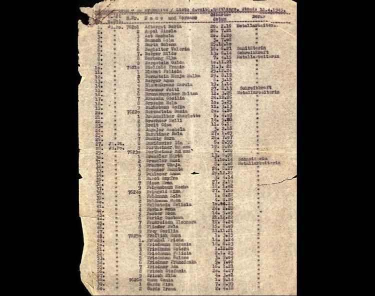 Lista de Oskar Schindler será leiloada na Europa