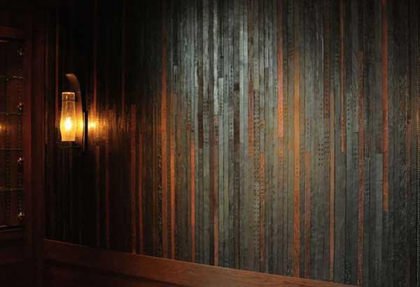 perierga.gr - Επένδυση δαπέδων και τοίχων με vintage ζώνες!