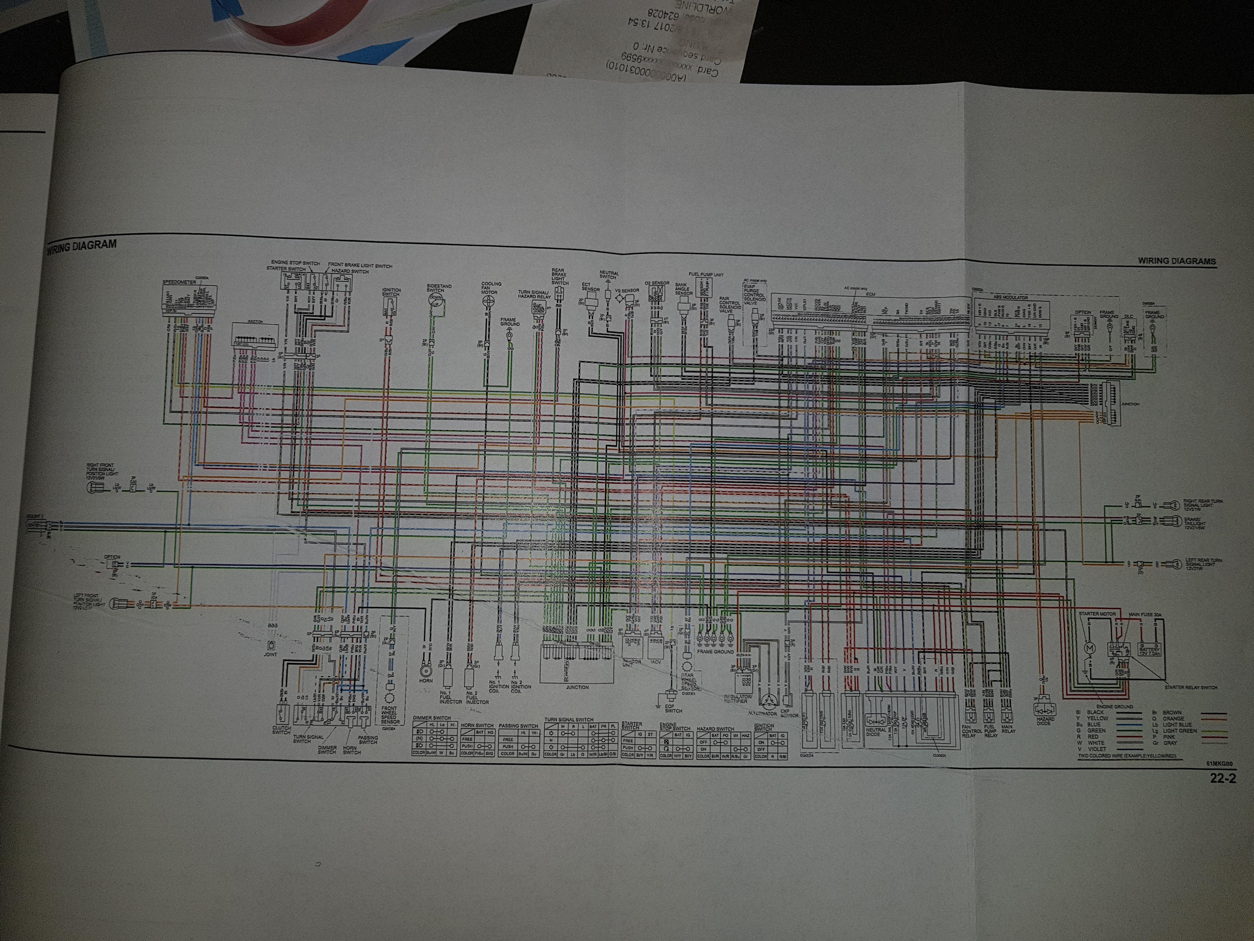 1986 Honda Rebel Wiring Harnes Diagram