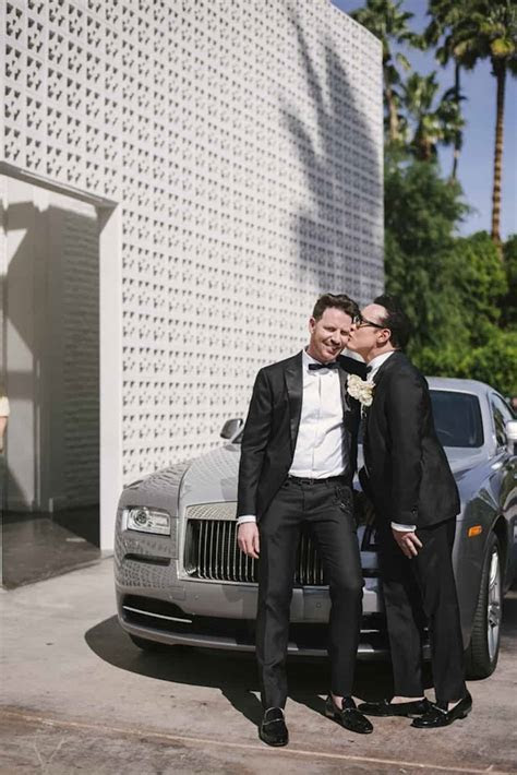 Glamorous White and Yellow Wedding at The Parker Palm
