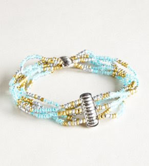 AEO Beaded Turquoise Bracelet - Buy One Get One 50% Off