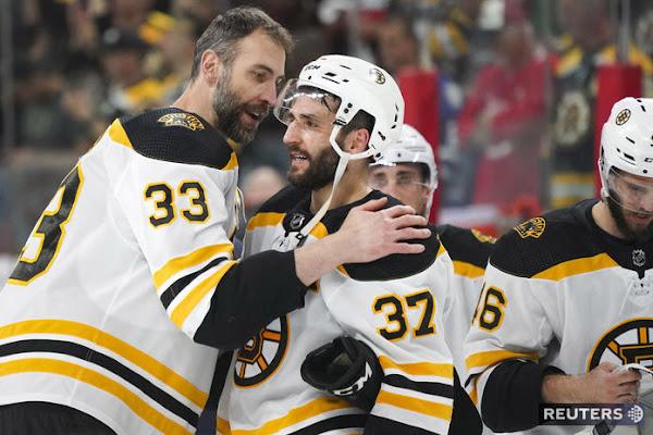 827d3316c113e Boston verí v zdravého Cháru. Prvotriedny líder, tlieskajú jeho gestu v NHL