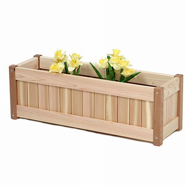 Wood Planter Box Pla